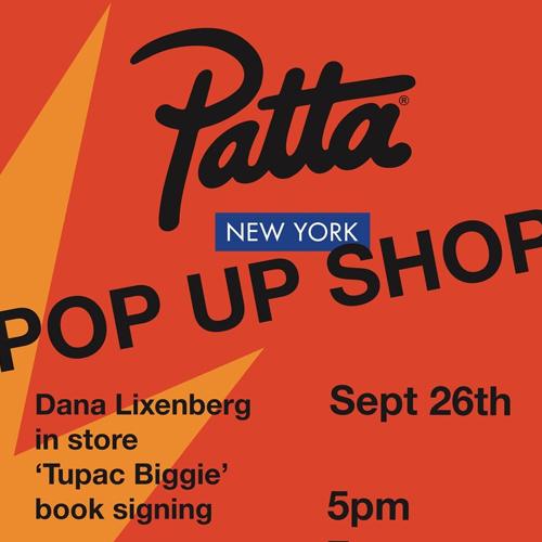 Patta 空降纽约开启 Pop-Up Store 限定店之旅